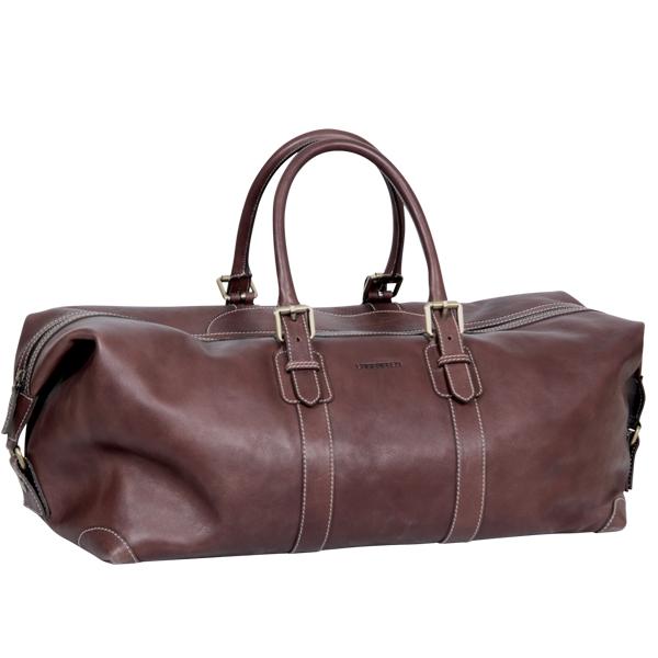 deri seyahat çantası